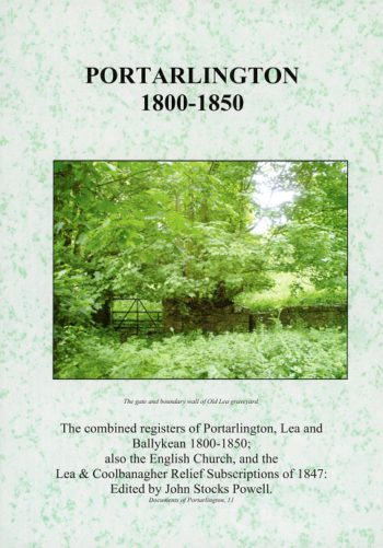 Portarlington 1800-1850 – John Stocks Powell