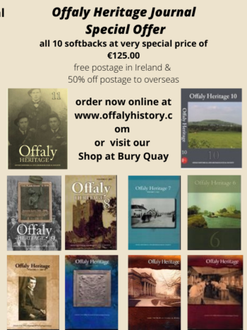 Offaly Heritage Journal Special Offer