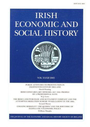 Irish Economic And Social History