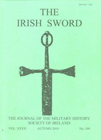 The Irish Sword The Journal Of The Military History Society Of Ireland